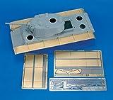 1 35 kv1 - Royal Model 1:35 KV-1 Mod 42 Cast Turret Detail Part 2 Trumpeter- PE Set #480
