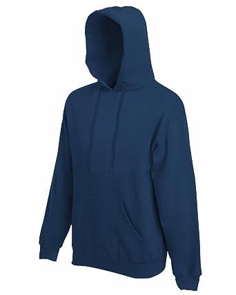 Daataadirect - Sudadera con Capucha - para Hombre Azul Azul Marino Small