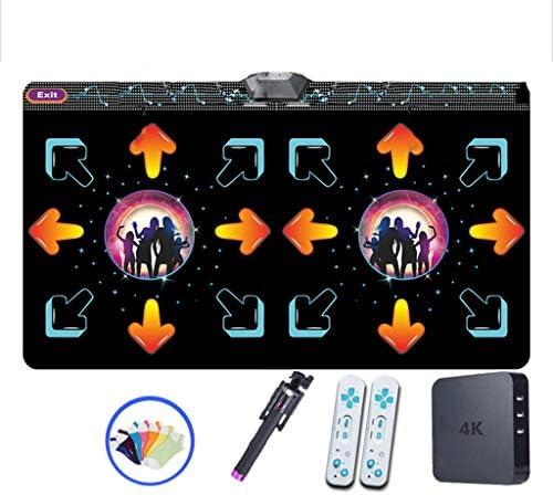 子供 ダンサーブランケット,厚み30mm 無線 ダンスマットパッド フィットネス プレイ ダンスダンスレボリューション プレイマット Hdテレビコンピュータデュアル-使用-f 166x93cm(65x37inch)