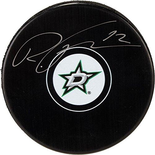 Radek Faksa Dallas Stars Autographed Hockey Puck - Fanatics Authentic Certified - Autographed NHL Pucks