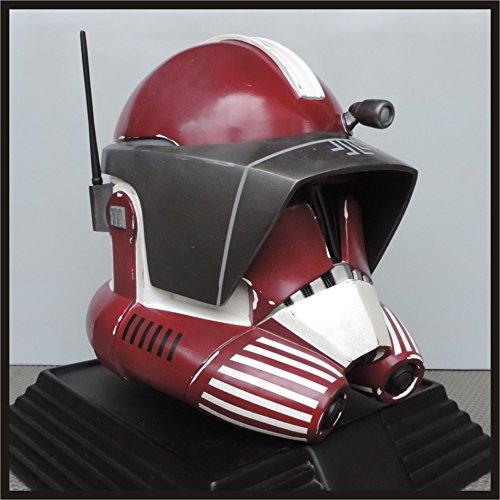 Clone Trooper Commander Fox Star Wars Life size Helmet Prop Phase 6 Custom Request (Clone Wars Commander Fox Costume)