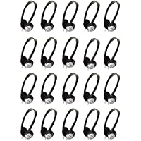 Panasonic RP-HT21 Lightweight Headphones with XBS (20 PACK)