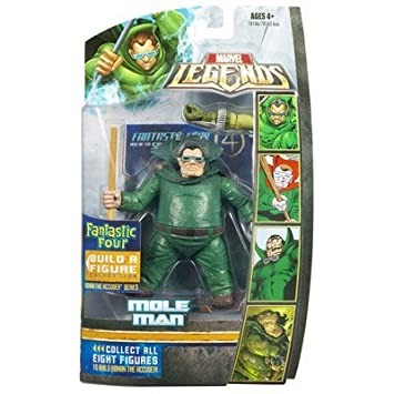Hasbro Marvel Legends Ronan The Accuser Series Mole Man Action Figure