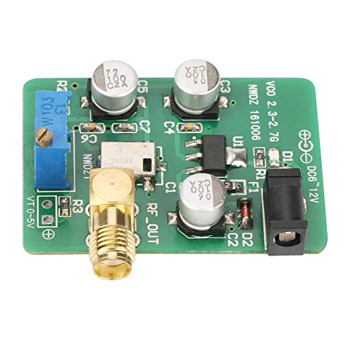 (VCO Voltage Control Signal Source 2.4G/1.5G/5.8G/88-120M Sweep Signal WIFI GPS FM Test Source 2300-2700MHz(5.8G))