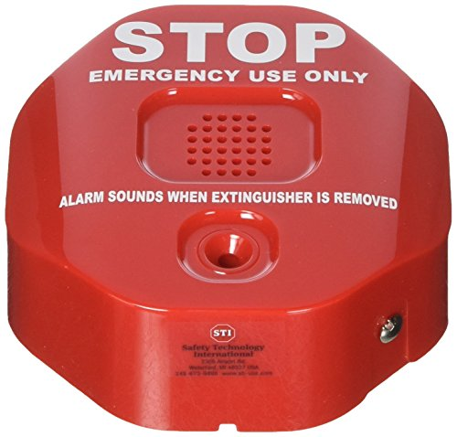 Safety Technology International, Inc. STI-6200 Fire Extinguisher Theft Stopper, Alarm Helps Prevent Misuse ()