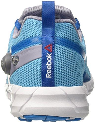 Reebok Zpump Fusion, Zapatillas de Running para Mujer Multicolor (Blue/Blue/Prpl/Slvr/)