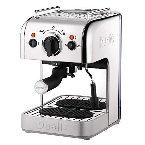 Dualit 3-in-1 Espressivo Coffee Machine, 1.5 Litre, 1250 Watt, 15 Bar, Polished Stainless Steel DCM2X 84440