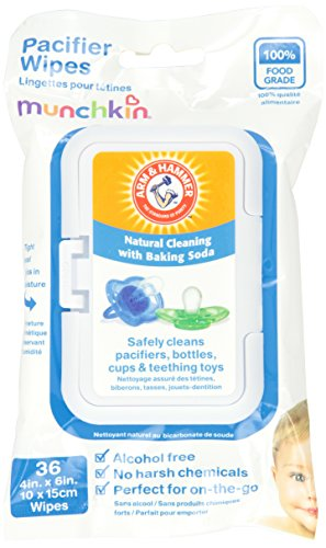 Munchkin 36 Pack Arm and Hammer Pacifier Wipes, White by Munchkin (Image #1)