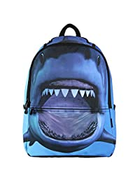 Hynes Eagle Kid's Printing School Backpack (Shark)