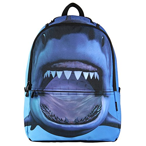 Hynes Eagle Printed Kids School Backpack Cool Children Bookbag Shark ()