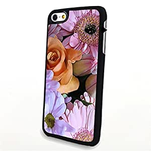 Generic Phone Accessories Matte Hard Plastic Phone Cases Flower Rose and Daisy fit for Iphone 6 Plus