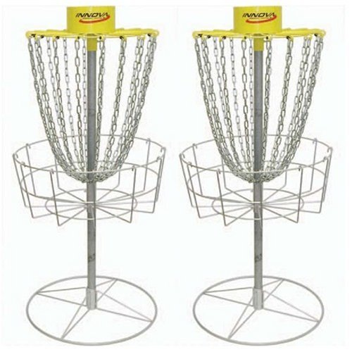 Innova Discatcher Sport Twin Pack - Disc Golf Basket Set by Innova