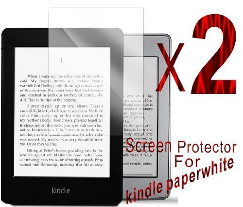 2 X Anti scratch clear finishing screen protector for kindle