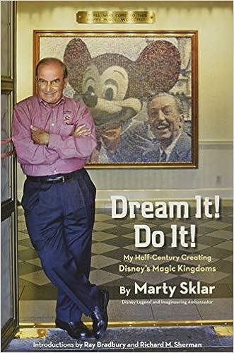 Dream It Do It My Half Century Creating Disney S Magic Kingdoms Disney Editions Deluxe Sklar Marty Bradbury Ray Sherman Richard M 8601400580998 Amazon Com Books