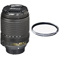 Nikon AF-S DX NIKKOR 18-140mm f/3.5-5.6G ED Vibration Reduction Zoom Lens with Auto Focus for Nikon DSLR Cameras with Tiffen 67mm Protection Filter