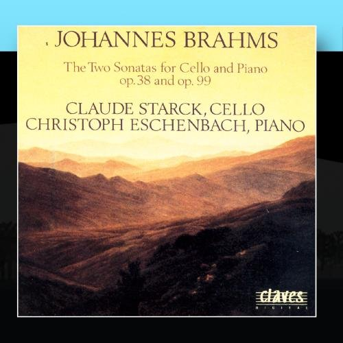Price comparison product image Johannes Brahms: The Two Sonatas for Cello & Piano op. 38 & op. 99