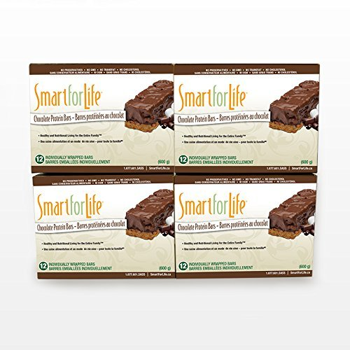 Smart for Life 4-12ct Chocolate Protein Bar by Smart for Life