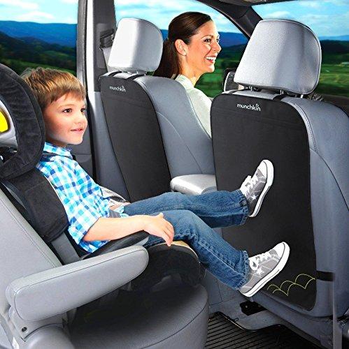 MUNCHKIN: 2x Schutzmatte für Rückseite der Auto-Vordersitze, Rückenlehnenschutz