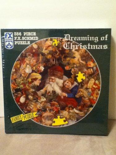 F.X. Schmid 356 Piece Round Puzzle ~