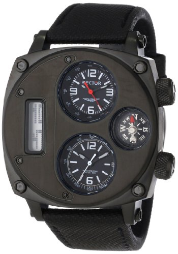 Sector Men's R3251207007 Mountain Compass Analog Stainless Steel Watch