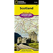 Scotland (National Geographic Adventure Map)