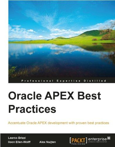 Download Oracle APEX Best Practices Pdf