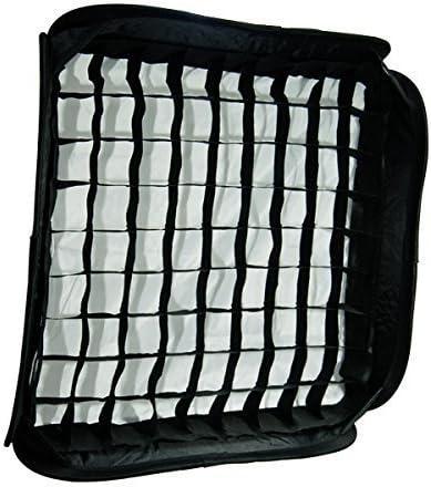 Portable Flash Soft Box Diffuser L-Shaped Bracket Flash Ring Kit with Universal Hot Shoe Limo24 X24 60Cm X 60Cm