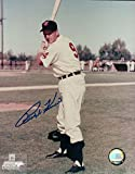 Autographed Kiner Photo - 8X10 Posing w Bat COA - Autographed MLB Photos