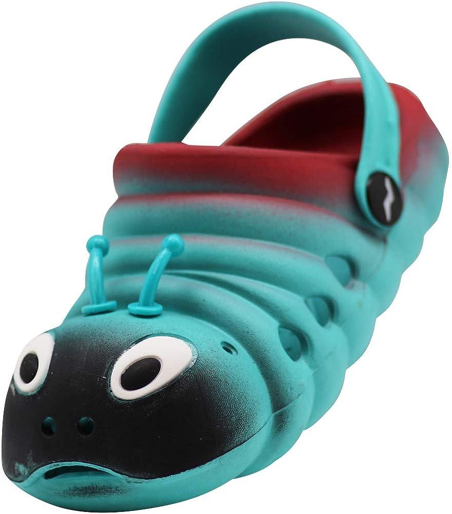 Fresko Toddler Kids Caterpillar Clogs T1047