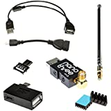 NooElec NESDR Nano 3 OTG - Premium Tiny RTL-SDR Bundle for Android and other USB OTG (microUSB) Host Devices. RTL2832U & R820T2 Software Defined Radio.