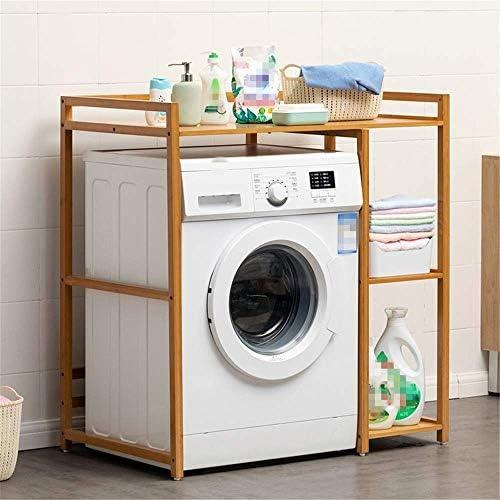 BXU-BG 主催ストレージ浴室スペースセーバー竹自立以上にキッチン&バス用洗濯機のストレージシェルフランドリールームトイレフラワースタンドシャワー