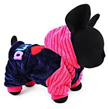 2016 Petcircle Fashion I love papa and mama winter Pet Dog Clothes Clothing For Pet Small Large Dog Coat Winter Clothes Jackets (XS, RED)