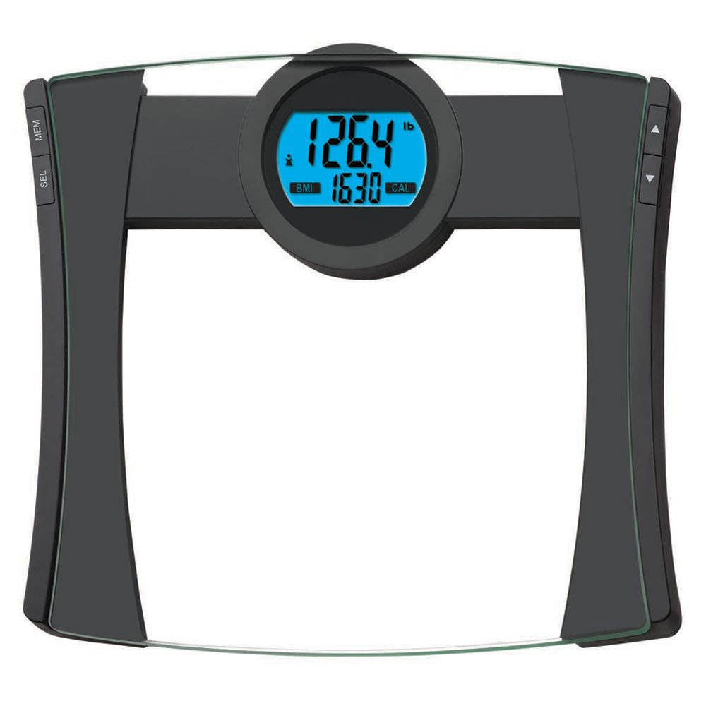 EatSmart Precision CalPal Digtal Bathroom Scale with BMI and Calorie Intake, 440 Pound Capacity EatSmart (HPC) ESBS-52