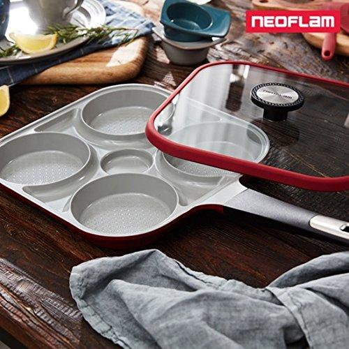 Neoflam Steam Plus W - Sartén de aluminio fundido con revestimiento ...
