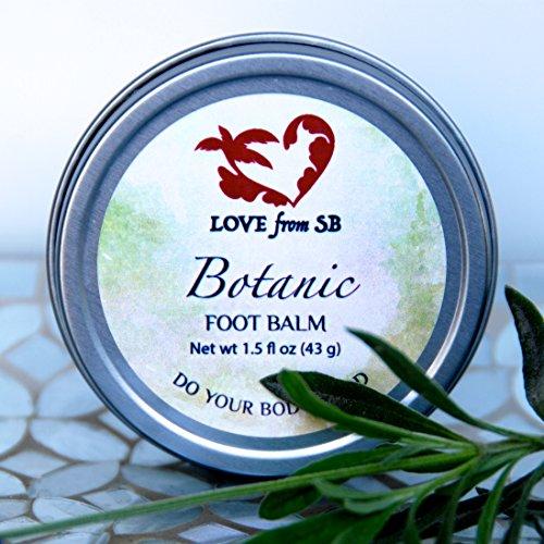 Botanic Foot Balm | Essential Oils Rough Feet Cracked Heels by Love from Santa Barbara
