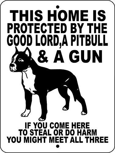 PITBULL DOG SIGN 9
