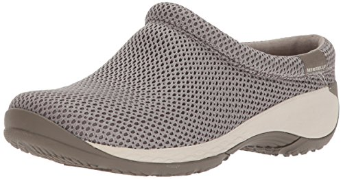Merrell Women's Encore Q2 Breeze Clog, Aluminum, 10 Medium US (Best Cities For Arthritis Sufferers)