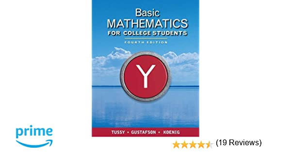 Basic Mathematics for College Students (Available Titles ...