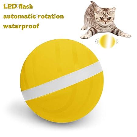 Ksruee Wicked Ball - Pelota Saltanda Eléctrica para Mascotas - LED ...