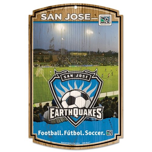 fan products of SOCCER San Jose Earthquakes Wood Sign, 11