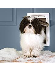 Petsafe ZPA19-16855 Extreme Weather Energy Efficient Aluminum Pet Door for Cats and Dogs