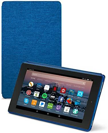 All-New Amazon Fire HD 8 Tablet Case (7th Generation, 2017 Release), Marine Blue