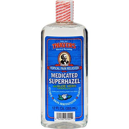 Thayer - Thayers Medicated Superhazel With Aloe Vera - 12 Fl