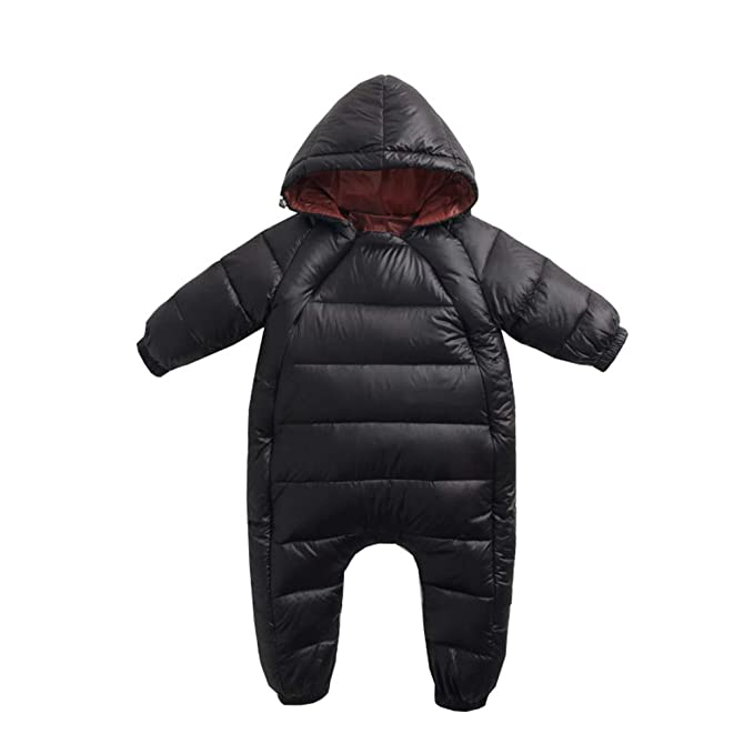 01f72a76d Fairy Baby Toddler Boys Girls Winter Thick Outwear Romper Hooded ...