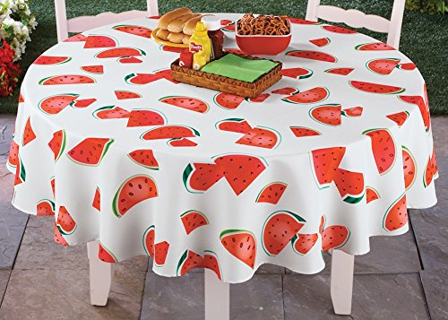 Watermelon Tablecloth Table Linens Round