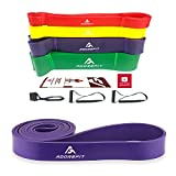 Cheap AdoreFit Resistance Exercise Loop Band,Optional Door Anchor & Handle – Assist Power Bands for Pull Up,Fitness,Home Gym,CrossFit,Power Lifting,Pilates, Stretch,Yoga,Strength Training Workout