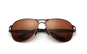 CMCL Caminante Nuevo Gafas De Sol Polarizadas Hombre Gafas De Sol Conducir Espejo, Brown Capullos: Amazon.es: Deportes y aire libre