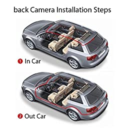 Dash Cam, OUMAXRV43HD Dual Lens Car Camera, Car Video Recorder for Vehicles Front and Rear DVR, 4.3 Inch Screen, Enhanced HD1080P with 16G CLASS 10 Micro SD Included - Black