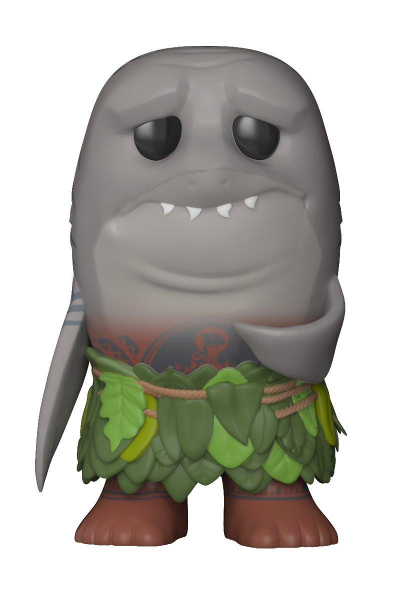 Funko POP! Disney: Moana - Shark Head Maui - Spring Convention Exclusive