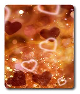 horse mouse pad Hearts And Sparkles PC Custom Mouse Pads / Mouse Mats Case Cover